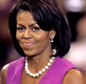 Michelle Obama's new hairdo takes centre-stage in new official portrait