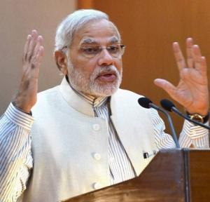 PM Modi arrives for BJP National Executive Meet