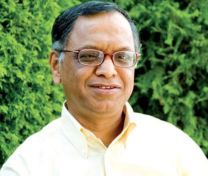 Global award for N.R. Narayana Murthy