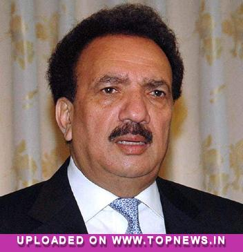 Rehman Malik says 'mobile networks have become terror networks' in Pak