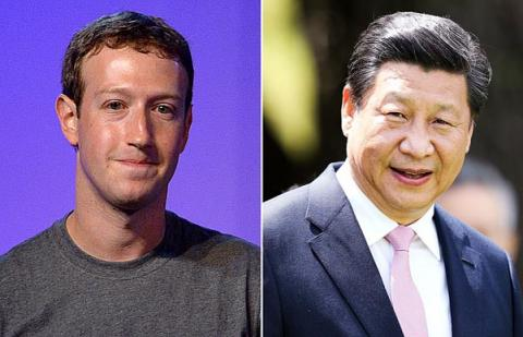 Mark Zuckerberg, Xi Jinping