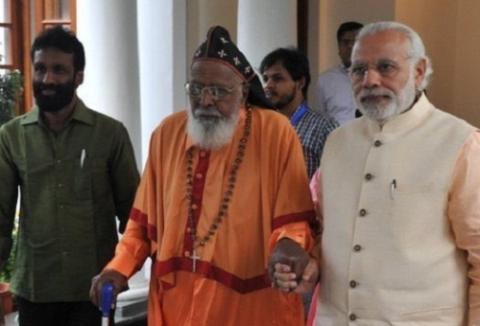 PM Modi greets Metropolitan Mar Chrysostom on his 100th birthday