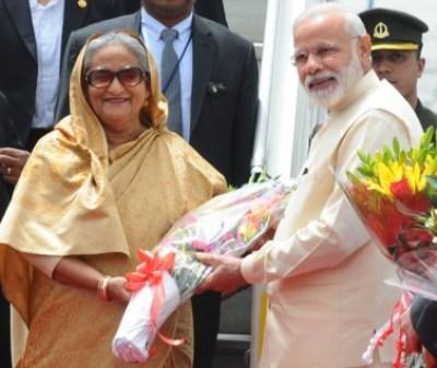 PM Modi, Bangladesh PM Hasina to hold delegation level talks