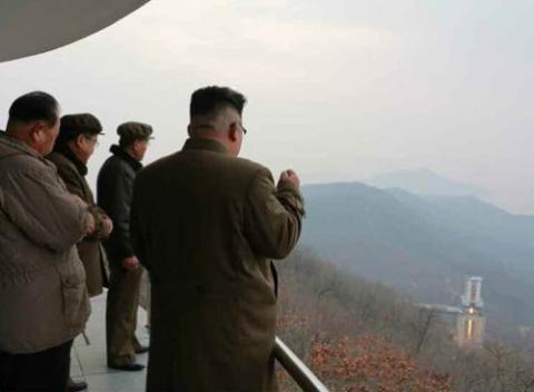 N. Korea tests high-thrust missile engine