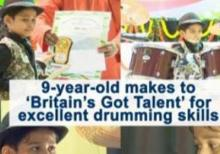 Odisha-based 9-year-old drummer makes it to 'Britain's Got Talent'