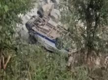 Himachal: 44 dead as bus falls into Shimla's Tons river
