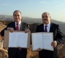 Jordan, Israel sign deal to help save Dead Sea