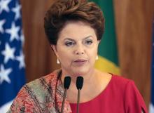 Brazil's Rousseff warns of risks associated with 'illegitimate government'