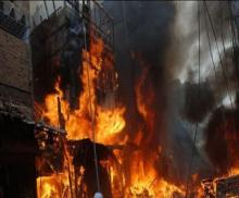 Odisha: Over 100 shops gutted in Golbazar Mandi inferno