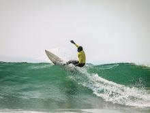 Global surfers for surfing festival in Odisha
