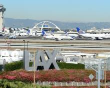LAX police search airport after gunshots reportedly fired