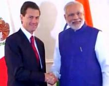 PM Modi meets Mexican President in New York