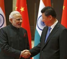 PM Modi presents Buddhist relics replicas to Chinese President