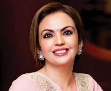 In the next 24 hours, Nita Ambani could become the face of Olympic sport in Indi