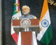 PM Modi thanks Mexico for supporting India's NSG membership bid