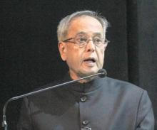 Let's unite to build an India of our dreams: President Mukherjee