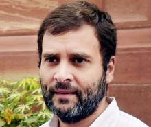 We saw such exit polls in Bihar also, says Rahul Gandhi