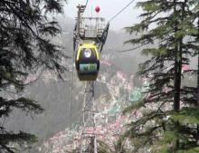 Shimla-Jakhu ropeway finally begins after ten years
