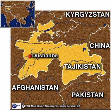 dakilang asyano sa tajikistan