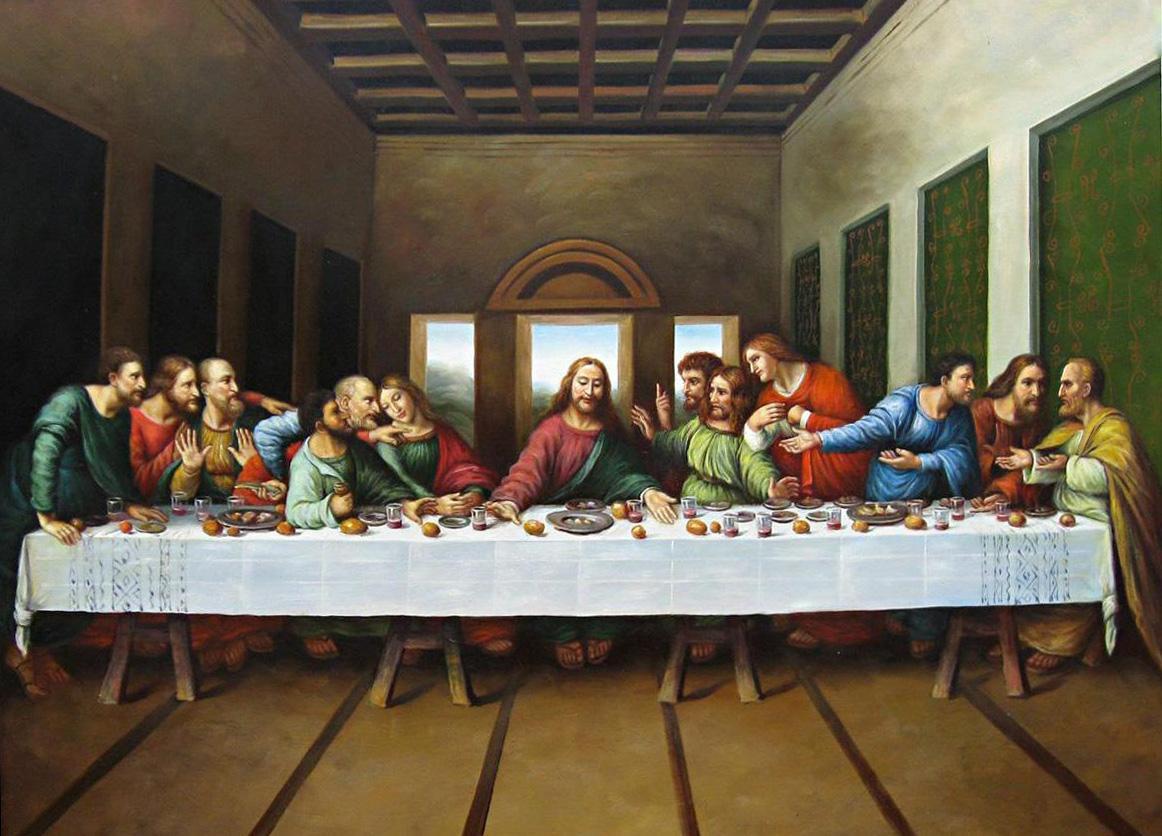Leonardo da Vinci `may have painted himself into The Last ... Da Vinci Last Supper Original