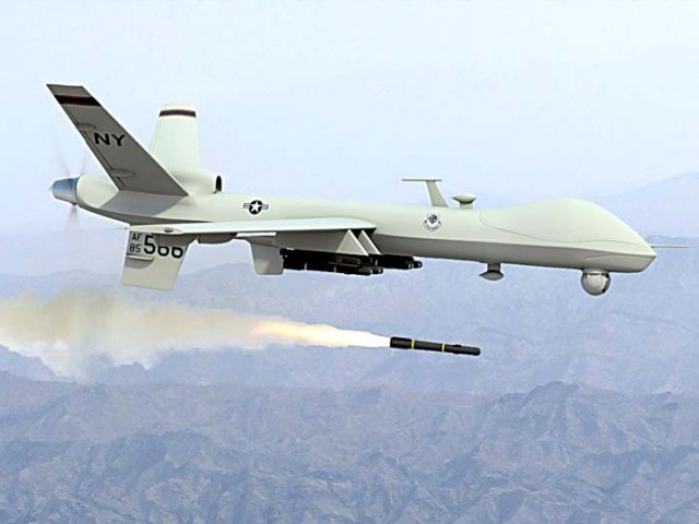 Four killed by US drone in Pakistan