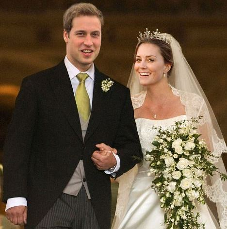 william kate wedding - Royal Family Wedding