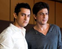 It's a first! After 25 yrs, SRK, Aamir come together for picture