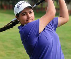Amandeep takes first round lead at Eastern India ladies golf