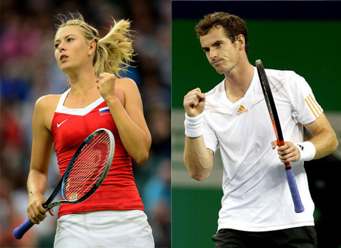 Murray, Sharapova favourites for Australian Open