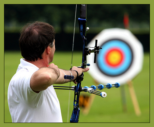 round of the Archery World Cup Stage III at Ogden in the US