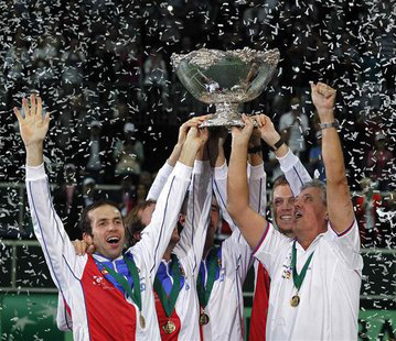 Czech Republic win Davis Cup