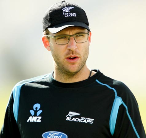 Former New Zealand captain Daniel Vettori