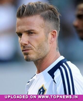 David Beckham TopNews Sports - David beckham hairstyle la galaxy