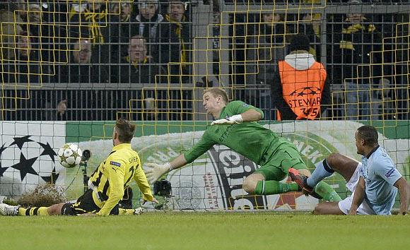 Dortmund defeat Manchester City in Champions League
