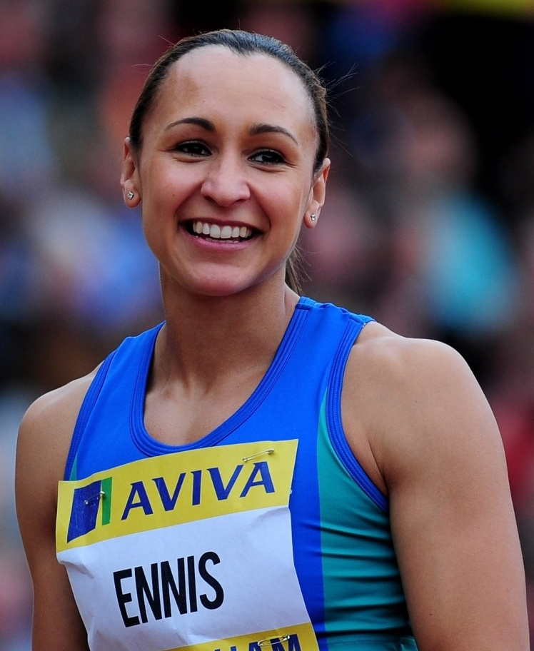 I cover up my arms because I look butch, says Jessica Ennis