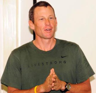 Lance Armstrong's cancer charity renamed as Livestrong Foundation