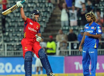 Highveld Lions thrash Mumbai Indians by eight wickets in CL T20 clash