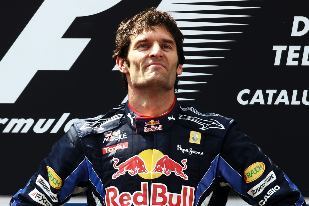 Veteran Red Bull driver Webber wants to retire at right time