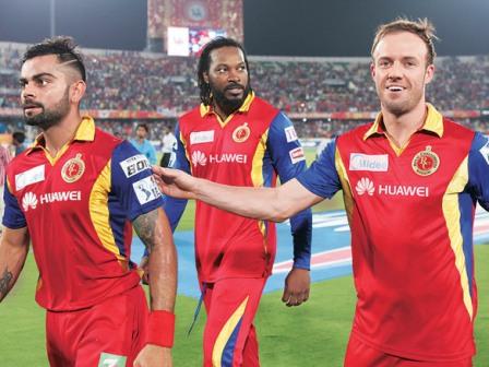 De Villiers-Kohli like Superman-Batman: RCB's Gayle