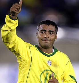 Romario, Zico to play in Soccerex duel