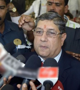 Srinivasan says he won't quit