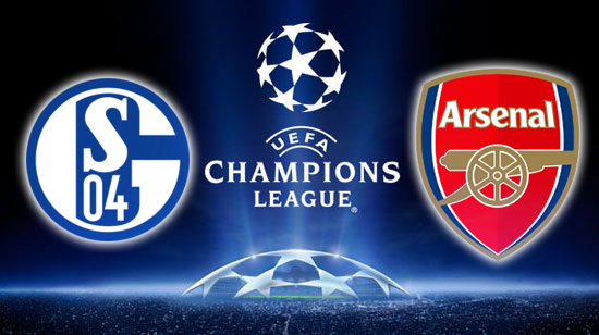 Schalke tie 2-2 with Arsenal in Champions League