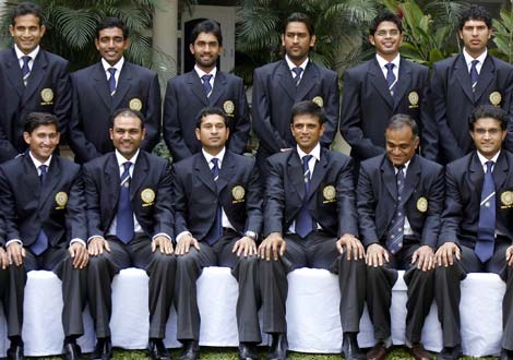 Indian cricket team pay homage to Mumbai attack victims
