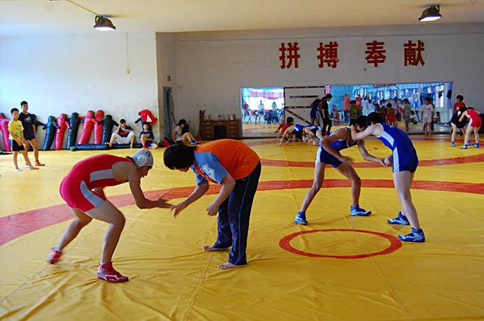 Wrestling training venue for Commonwealth Games inaugurated