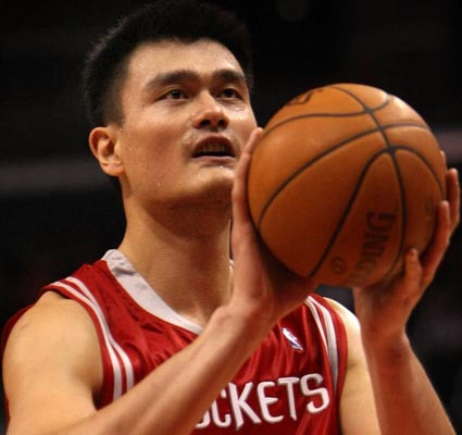 Yao among Rockets big names to attract Howard to Houston