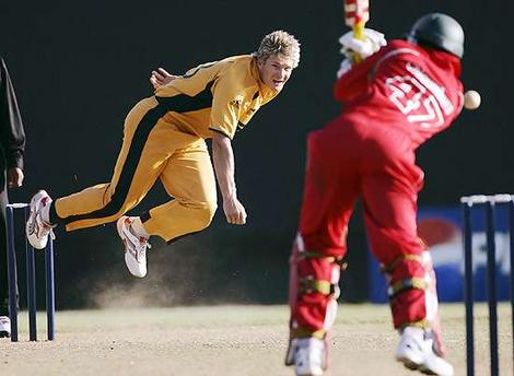 Zimbabwe stun Australia in World Twenty20 warm-up match