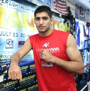 UK boxer Amir Khan vows to be the best in the world