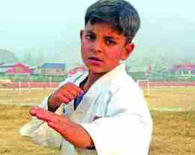 Six-year-old Kashmiri boy bags gold in Asian Karate Championship