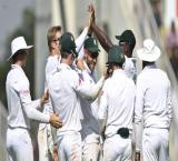 Harmer takes four as India bundled out for 215