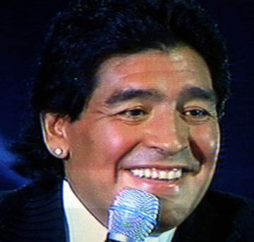 Maradona offers to help Gazza kick booze habit